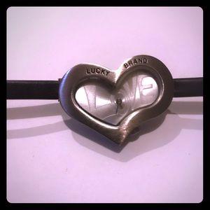 Lucky brand heart watch